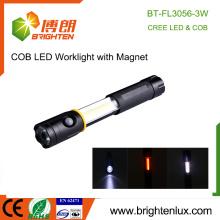 Factory Wholesale Best Power Aluminium Metal 3 in1 Multi-fonctionnel Extension 3 Watt COB Magnetic led Work Light