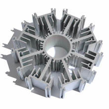 Высококачественный алюминиевый профиль радиатора