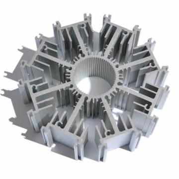 Perfil de dissipador de calor de alumínio de alta qualidade