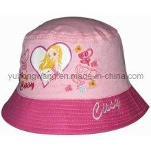 Casquillo del cubo del béisbol del cabrito del algodón de la manera / sombrero, sombrero flojo