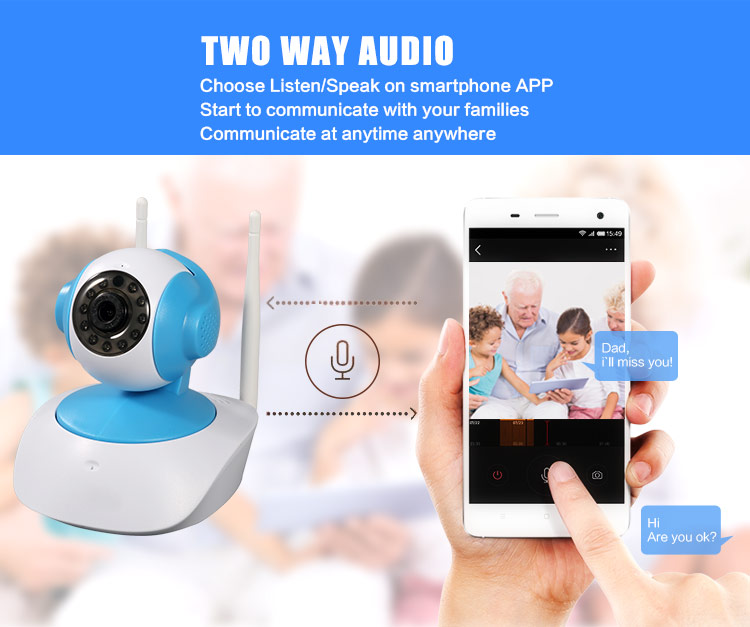 Two Way Audio Wifi Camera