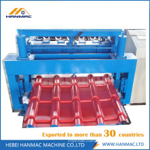Colored Steel Glazed Tile Roll Forming Machine