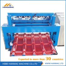 Цветной стальной глазурованной плитки Профилегибочная машина