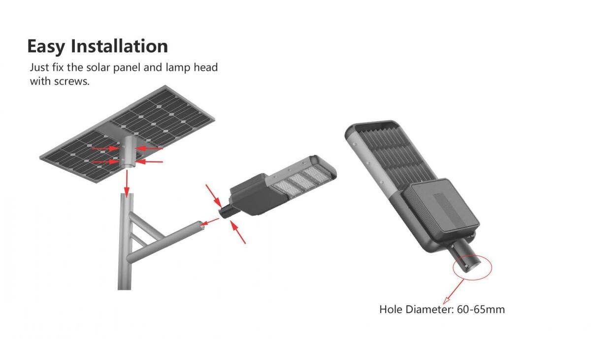 smart solar street light