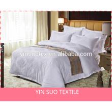 100% cotton, luxury, dyeing, white duvet cover set,
