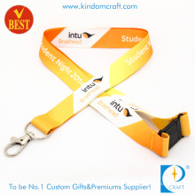 Custom Printed Polyester Lanyard with Safety Buckle (JN007)