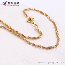 42750 Hot Sale Fashion Nice Feeling 18k Gold-Plated Jewelry Necklace
