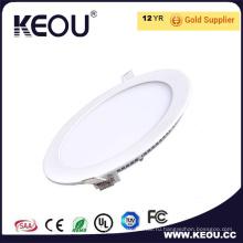 Белый каркас 3W/6W/9W/12Вт/15W/18W/24W свет крытый светодиодные панели