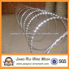 galvanized razor barbed wire coils