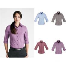 Mode-Dame Büro-Uniform mit 3/4 Hülsen-Hemd (XY -009)