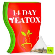 Etiqueta privada Skinny Mint 14 Day Teatox / Quick Slim Fit té que adelgaza la pérdida de peso del té de la dieta / Moringa que adelgaza el té