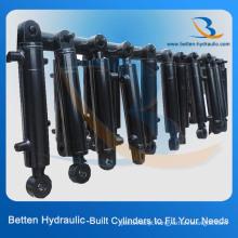 Cilindro de elevação hidráulico padrão de alta pressão de 3 polegadas