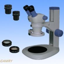 Stereo Zoom Mikroskop Jyc0730 Serie mit verschiedenen Typ Stand