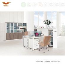 Elegant White Office Computer Desk Cubicles Modular Workstation (H20-02)