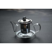 Borosilicate Glass Teapot with Cups Set for Blooming Tea