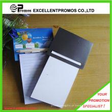 Logotipo promocional impresso magnético bloco de notas com caneta (EP-N82964)