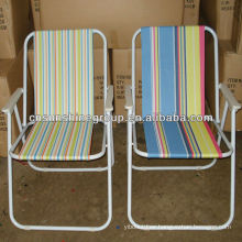 Stripe fabric Picnic Chair