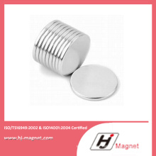 Customized Disc NdFeB Magnet with ISO14001