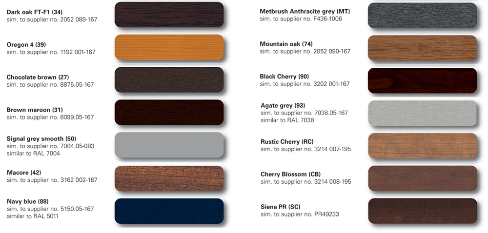 Wood grain Door Colors-2