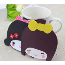 Colorful Owl Shape Silicone Cup Mat