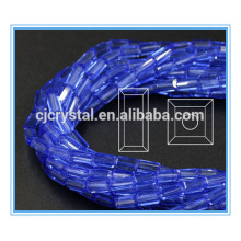 6*12mm crystal rectangle beads crystal glass beads curtains