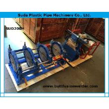 Máquina de solda de fusão de topo de tubulação de Sud200h