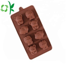 Coklat Coklat silikon Gummy Bear Candy Baking Tools