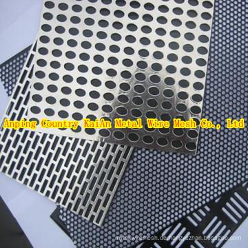 Verschiedene Perforierte Edelstahl Mesh / Edelstahl Perforierte Metall Mesh / perforierte Mesh ---- 34 Jahre Fabrik