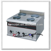 K138 Stainless Steel Counter Top Electric Hot Plate Cookerware