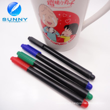 Venda quente multi cor cerâmica caneta, marcador de porcelana