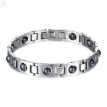 Japanese Stainless Steel Health Therapy Bio Blood Pressure Magnetic Bracelet