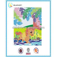 Interesting DIY Mosaic art /mosaic sticker/educational toys for children