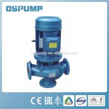 Fabricante vertical de bomba de aguas residuales en línea