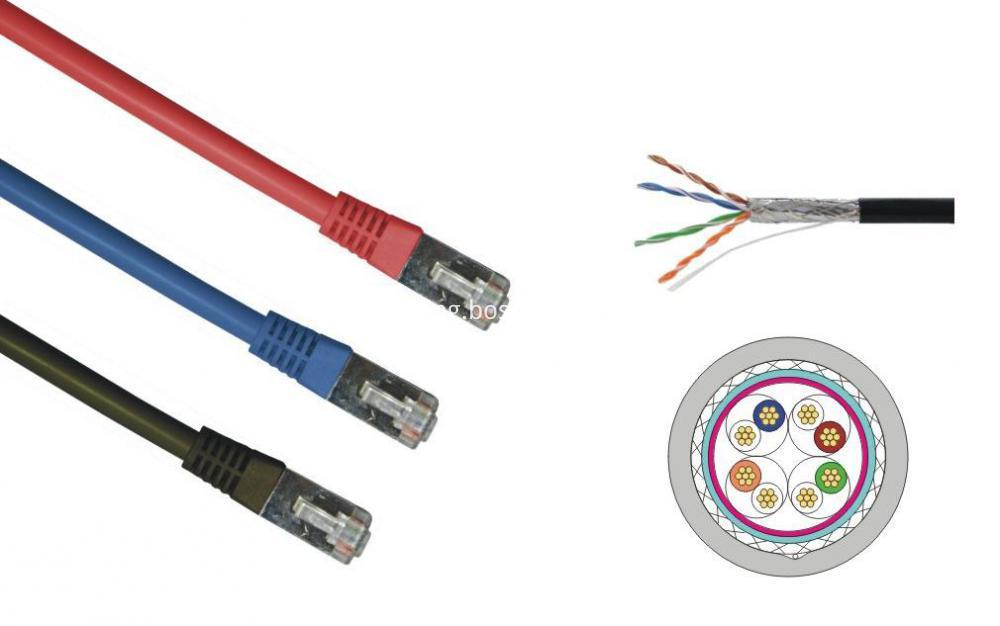 cat5e sftp patch cord struc