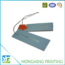 Custom Printed Luxury Paper Hang Tags for Jeans