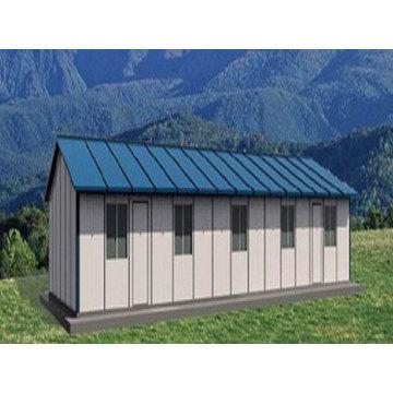 Casa prefabricada, estructura de acero modular (pH-98)