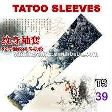 2016 dragon design tight tattoo sleeve