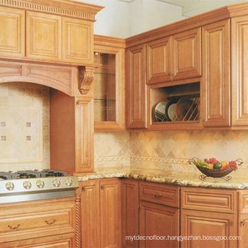 Villa Apartment Kitchen Cabinet Solid Wood