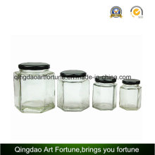 Glass Jars for Food and Honey with Metal Cap Supplier