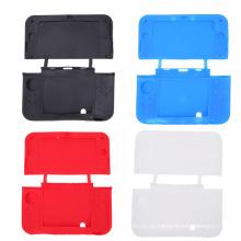 Capa de borracha colorida capa de pele capa de silicone para o novo 3DSXL 3DSLL 3DS XL LL