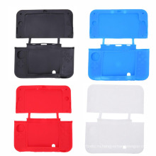Красочные резиновые покрытия кожи рукав протектор силиконовый чехол для нового 3DSXL 3DSLL 3ds и XL в ЛЛ