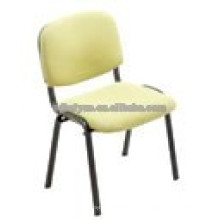 2017 hot sell Soft Cushion Home Furniture Fabric Dining Chair with Metal Tube Legs