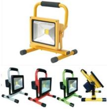 10W recargable luz de inundación LED