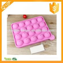Molde de la torta del silicón del molde de la torta del silicón