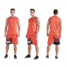 2017 nuevo modelo de baloncesto desgaste transpirable malla popular baloncesto uniforme en la venta
