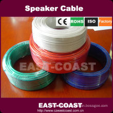 colored speaker cable