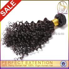Интернет Магазин Дешевые Оптовые Kinky Вьющиеся Человеческих Монгольских Волос Девственницы