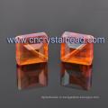 Смешанные цвета Crystal площади фигуры кубовидной стеклянные бусы для ювелирных изделий