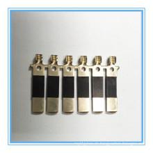 Präzisions-Metallteil, Messing-Terminal für Kabel (HS-DZ-0009)