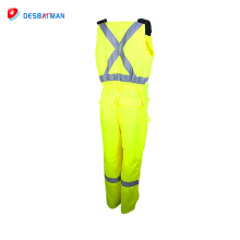 Hot sale high quality workwear safety reflective coverall